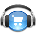 store, music DarkSlateGray icon