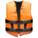 help, support, life, vest DarkSlateGray icon