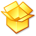 Box, package Khaki icon