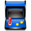 package, Games, Arcade Black icon