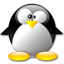 Penguin Black icon