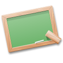tutorials, Black board, table, learn, school, teach DarkSeaGreen icon