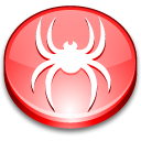 Crawler, spider LightCoral icon