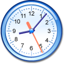 Xclock AliceBlue icon