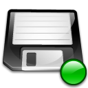 3floppy, mount WhiteSmoke icon