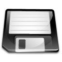 Disk, save, Floppy WhiteSmoke icon