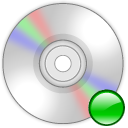 mount, Cdrom LightGray icon