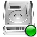 mount, Hdd Silver icon