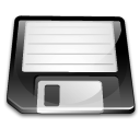 Floppy, unmount WhiteSmoke icon