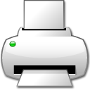 printer, Print WhiteSmoke icon