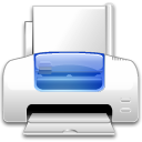 printer Gainsboro icon