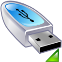 usbpendrive, mount DarkGray icon