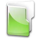 green, Folder YellowGreen icon