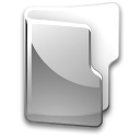 Folder, grey DarkGray icon