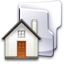 Home, house, Folder Gainsboro icon