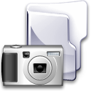 Camera, Folder Gainsboro icon
