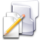 documents, Pen, write, Folder Gainsboro icon