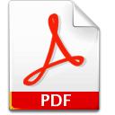 Pdf, document Snow icon
