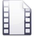 movie, video, film WhiteSmoke icon