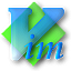 Gvim DodgerBlue icon