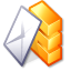 Kmail Goldenrod icon