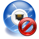 internet, Connection SteelBlue icon