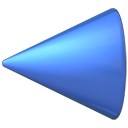 previous, Left, Back, Arrow MidnightBlue icon