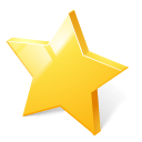 bookmark, rate, toolbar, star, rating Gold icon