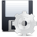 Fileexport Gainsboro icon