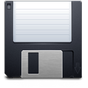 Disk, save DarkSlateGray icon