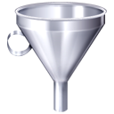 Filter, funnel LightSlateGray icon
