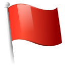 red, flag Firebrick icon