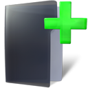 new, Folder DarkSlateGray icon