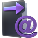 Email, Folder, mail, sent DarkSlateGray icon