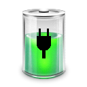 Battery, power, Energy, charge Black icon