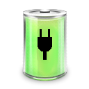 Full, Energy, Battery, power LightGreen icon