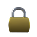 Lock DarkOliveGreen icon