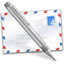 mail, post office, mail box, post box WhiteSmoke icon