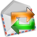 mail, send LightGray icon