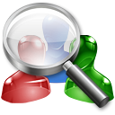 user, search, Find IndianRed icon