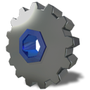 Gear, system, wheel DimGray icon
