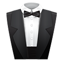 Suit, butler, Assistant DarkSlateGray icon