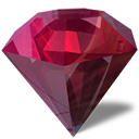 Beryl-manager, purple, jewel, diamond DimGray icon