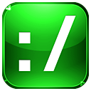 enhanced, Browsing LimeGreen icon