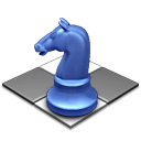 springer, horse, chess, knight Black icon
