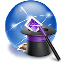 wizard, hat, Connection, internet SteelBlue icon