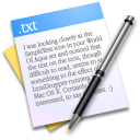 Text, File, writing, Txt, paper Black icon