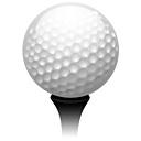 sport, Golf DarkGray icon