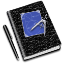 education, math, Notebook Black icon