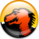Browser, mozilla OrangeRed icon